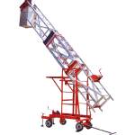 ALUMINIUM TELESCOPIO TINABLE TOWER LADDER nm-06